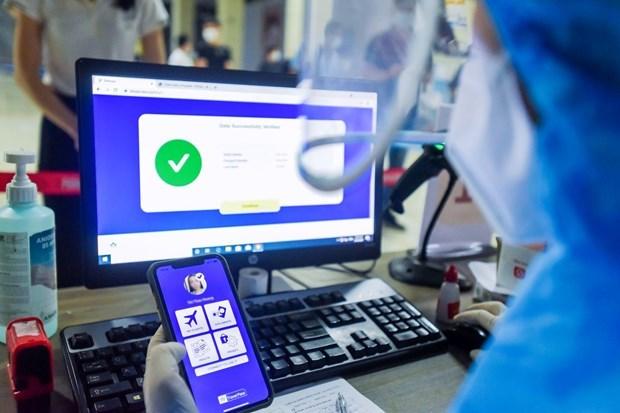 """""""电子健康护照""""为航空业重新起飞创造机遇 hinh anh 2"""
