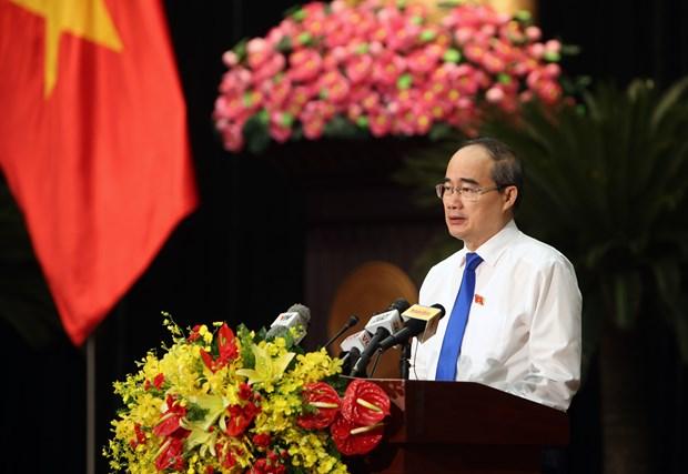 第九届胡志明市人民议会第12次会议正式开幕 hinh anh 2