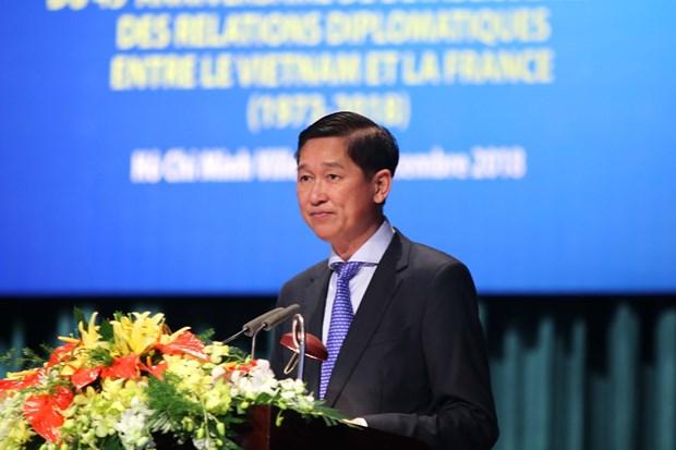 胡志明市与法国各地方进一步提升合作层次和水平 hinh anh 1