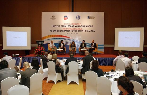 第五次海洋对话: 东海问题中的东盟合作 hinh anh 1