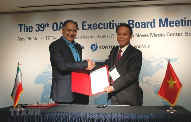 越南通讯社是亚太通讯社组织(OANA)的积极成员 hinh anh 1