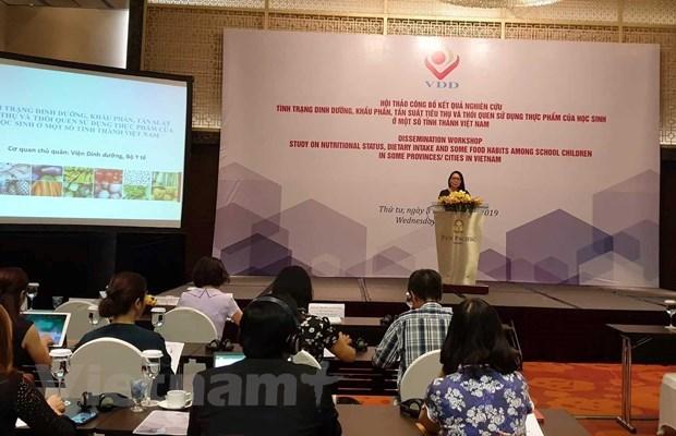越南小学生超重肥胖率高达29% hinh anh 2