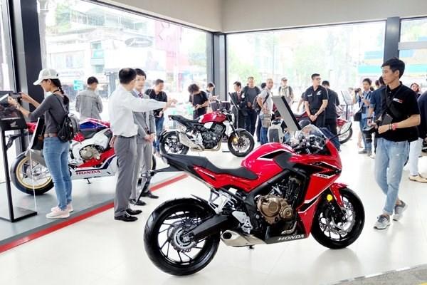 第二季度越南摩托车销量下降4%以上 hinh anh 1