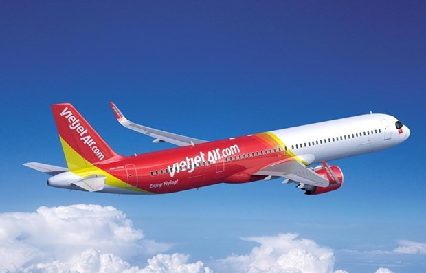 越捷航空公司与空客公司签署20架A321XLR客机订购合同 hinh anh 1