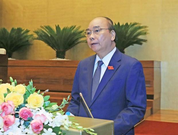 越南政府总理阮春福:主动制定经济社会短期和长期发展预案 hinh anh 1