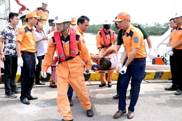 海防市海域上发生撞船事故 致3人伤亡 4人失踪 hinh anh 1