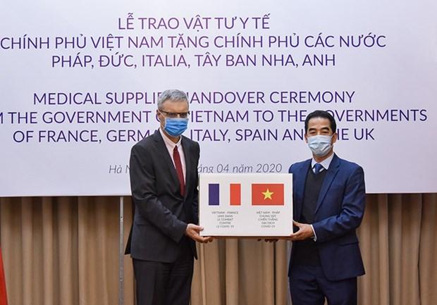 越南与世界各国携手合作抗击新冠肺炎疫情 hinh anh 1