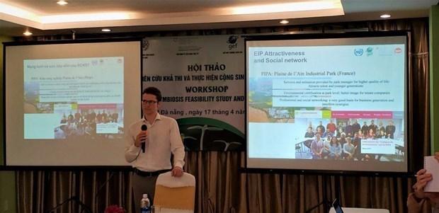 越南各工业区朝着可持续发展生态模式转型 hinh anh 1