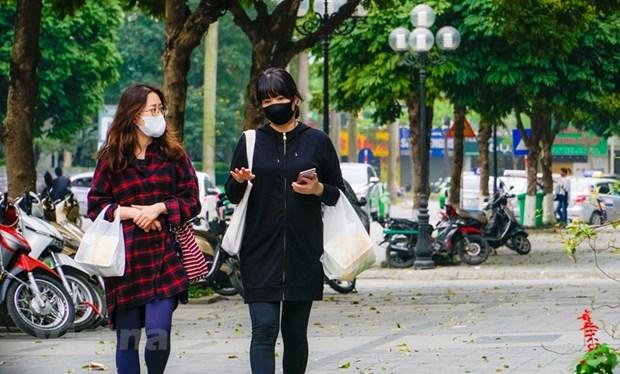"""组图:在新冠肺炎疫情不断扩散蔓延的背景下首都河内""""韩人街""""生活如何? hinh anh 2"""