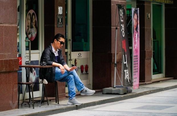 """组图:在新冠肺炎疫情不断扩散蔓延的背景下首都河内""""韩人街""""生活如何? hinh anh 18"""