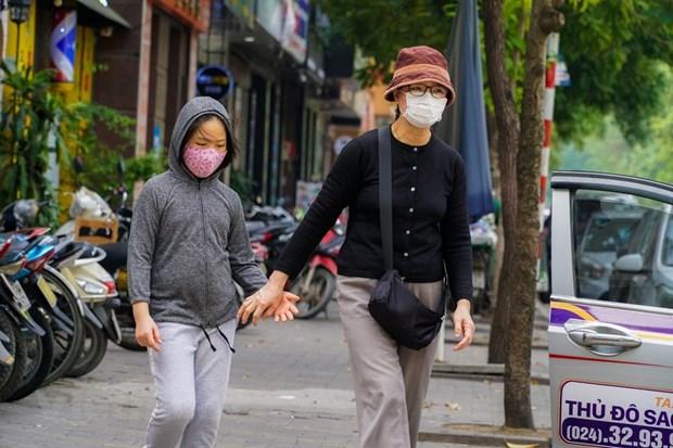 """组图:在新冠肺炎疫情不断扩散蔓延的背景下首都河内""""韩人街""""生活如何? hinh anh 19"""