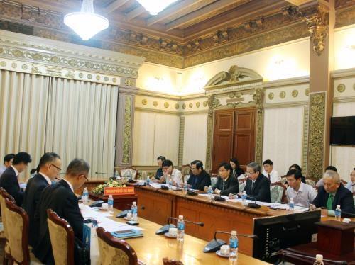 外国银行十分关注胡志明市基础设施及交通设施建设项目 hinh anh 1