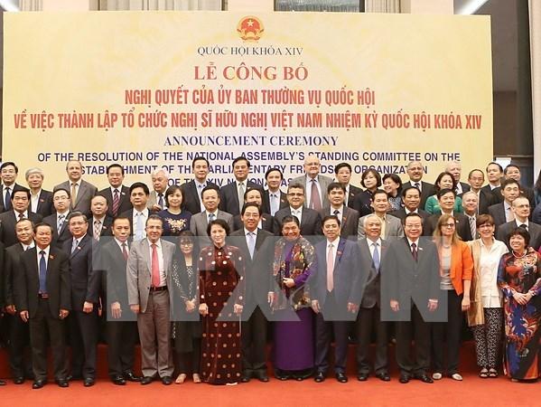 越南第十四届国会友好议员组织正式亮相 hinh anh 1
