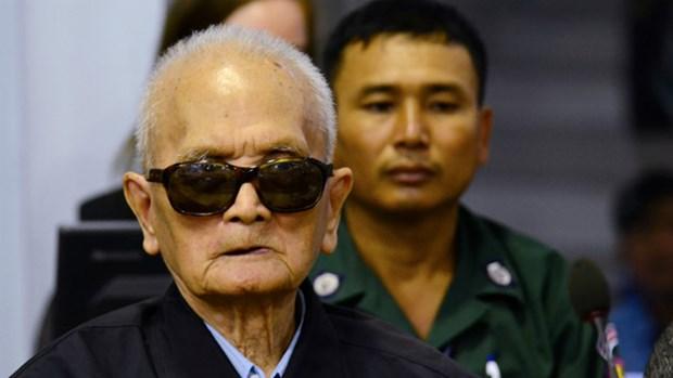 柬埔寨法庭维持对两名前红色高棉领导人的终审监禁原判 hinh anh 1