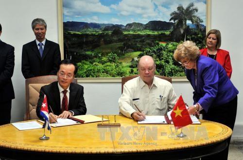 越南-古巴政府间联合委员会第34次会议圆满结束 hinh anh 1