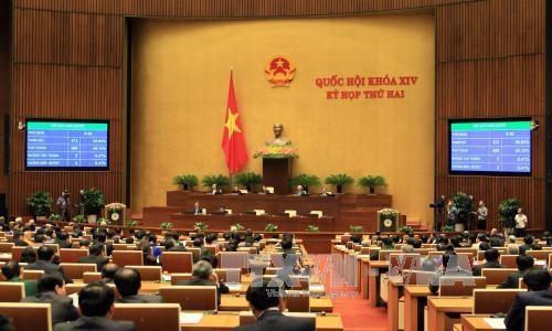 越南第十四届国会第二次会议发表第二十五号公报 hinh anh 1