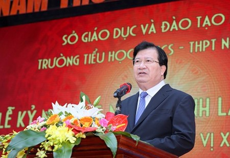 越南政府副总理郑廷勇:阮超学校是河内乃至越南全国教育模式的典范 hinh anh 1