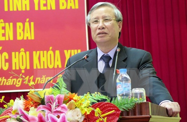 越南第十四届国会第二次会议结束后党和国家领导开展选民会面活动 hinh anh 1