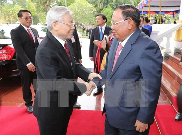 老挝媒体:阮富仲总书记此次访老有助于深化越老特殊合作关系 hinh anh 1