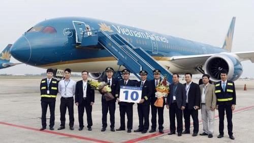 越南航空公司接收第10架波音787-9梦幻客机 hinh anh 1