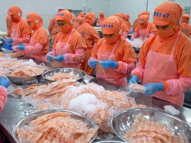 今年前11月越南水产品出口额达64亿美元 hinh anh 1