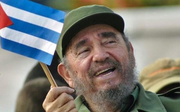 越南国会主席阮氏金银率团出席古巴革命领袖菲 德尔·卡斯特罗的葬礼 hinh anh 1