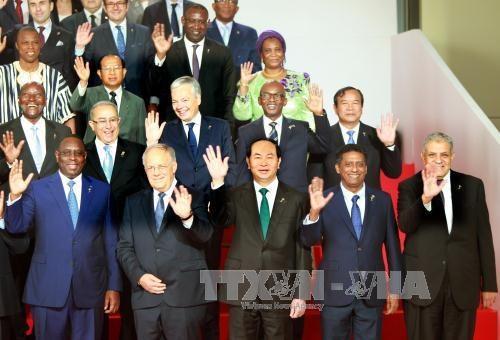 越南国家主席陈大光出访各国行程圆满结束 hinh anh 1