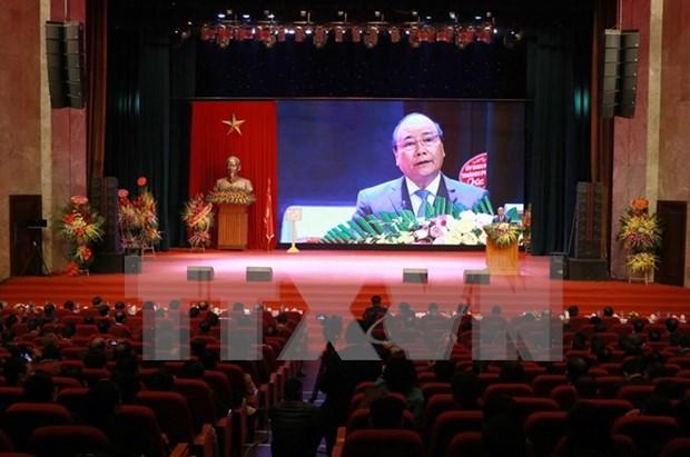 阮春福总理:证券市场需成为提升财力、推动经济增长和提高企业资本利用效率的工具 hinh anh 1