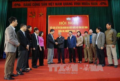 越南党及国家领导纷纷开展与各地选民接触活动 hinh anh 3
