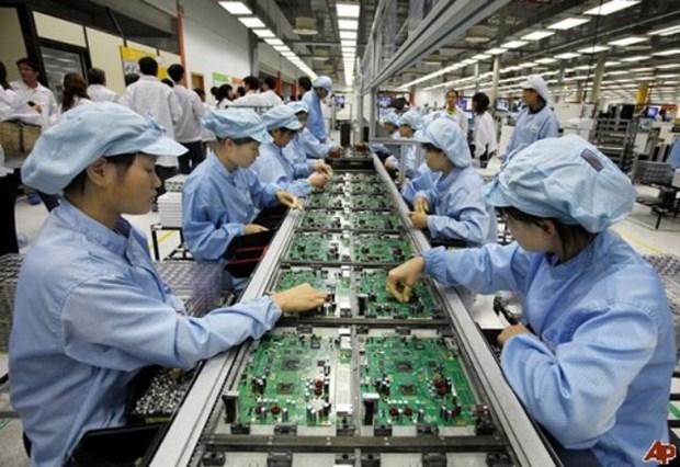 今年11月越南工业生产总值同比增长7.2% hinh anh 1