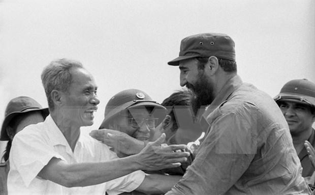 旅居墨西哥越南人吊唁古巴革命领袖菲德尔•卡斯特罗 hinh anh 1