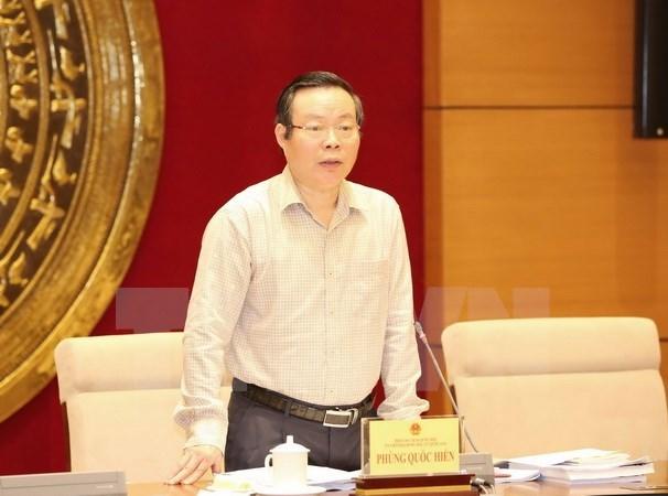 国会副主席冯国显会见美国-东盟商务理事会代表团 hinh anh 1