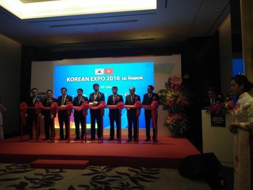 2016年韩国交易会与展览会在河内举行 hinh anh 1
