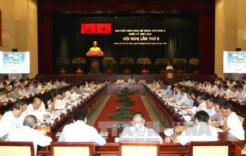 越共胡志明市第十届委员会第八次全体会议今日开幕 hinh anh 1