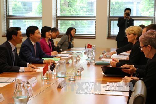越南政府副总理范平明访问澳大利亚 hinh anh 1
