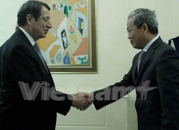 促进越南与塞浦路斯的合作关系 hinh anh 1