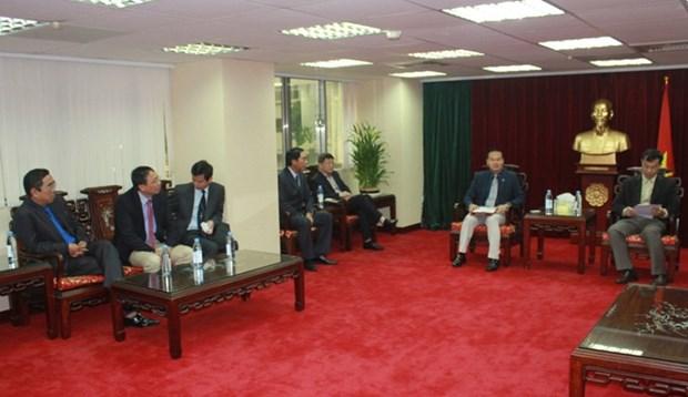 广宁省代表团赴中国台湾寻找投资合作商机 hinh anh 1