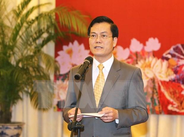 越南外交部祝贺老挝国庆41周年 hinh anh 1
