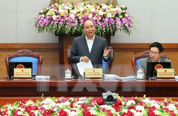越南政府总理阮春福:加快推进2016年公共投资预算执行进度 hinh anh 1