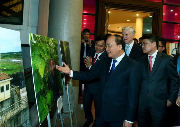 阮春福总理出席亚行成立50周年纪念典礼 hinh anh 2