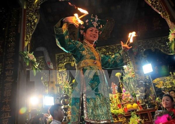 越南祀母信仰被列入《人类非物质文化遗产代表作名录》 hinh anh 1