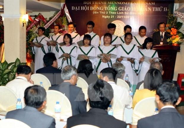 越南门诺派教会第三次大会开幕 hinh anh 1