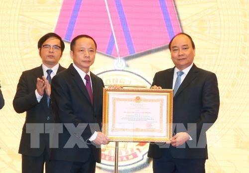 阮春福总理:为中小型企业营造更加公平透明的营商环境 hinh anh 1