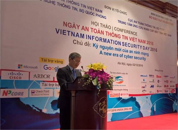 2016年越南信息安全日活动拉开帷幕 hinh anh 1