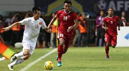 2016年东南亚男足锦标赛半决赛:印尼队主场以2比1击败越南队 hinh anh 1