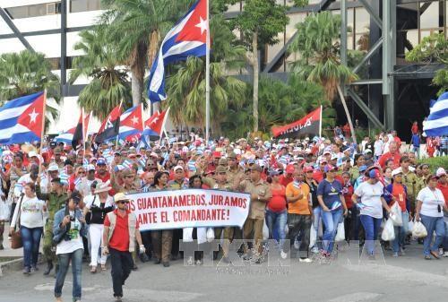 古巴前领导人菲德尔·卡斯特罗葬礼在古巴圣地亚哥举行 hinh anh 2
