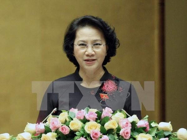 越南国会主席阮氏金银即将出访印度,出席第11届全球女性议长峰会 hinh anh 1