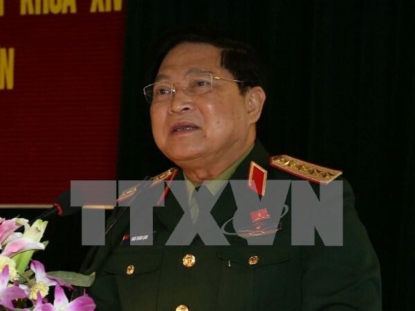 越南高级军事代表团对印度进行正式友好访问 hinh anh 1