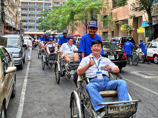 赴越南旅游的中国和韩国游客量创历史新高 hinh anh 1