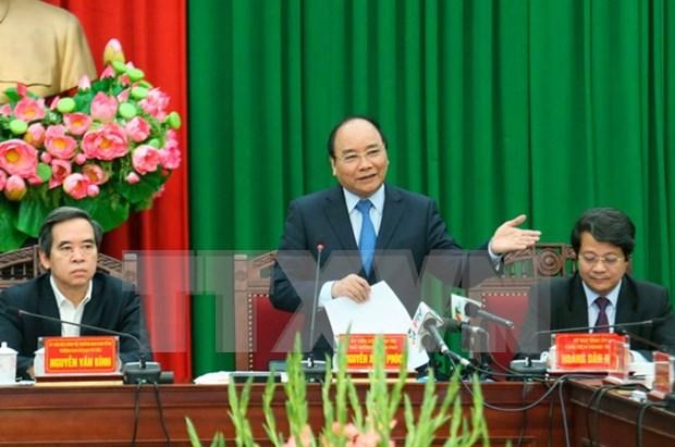 阮春福总理:将越池市打造成为追本溯源的节庆城市 hinh anh 1